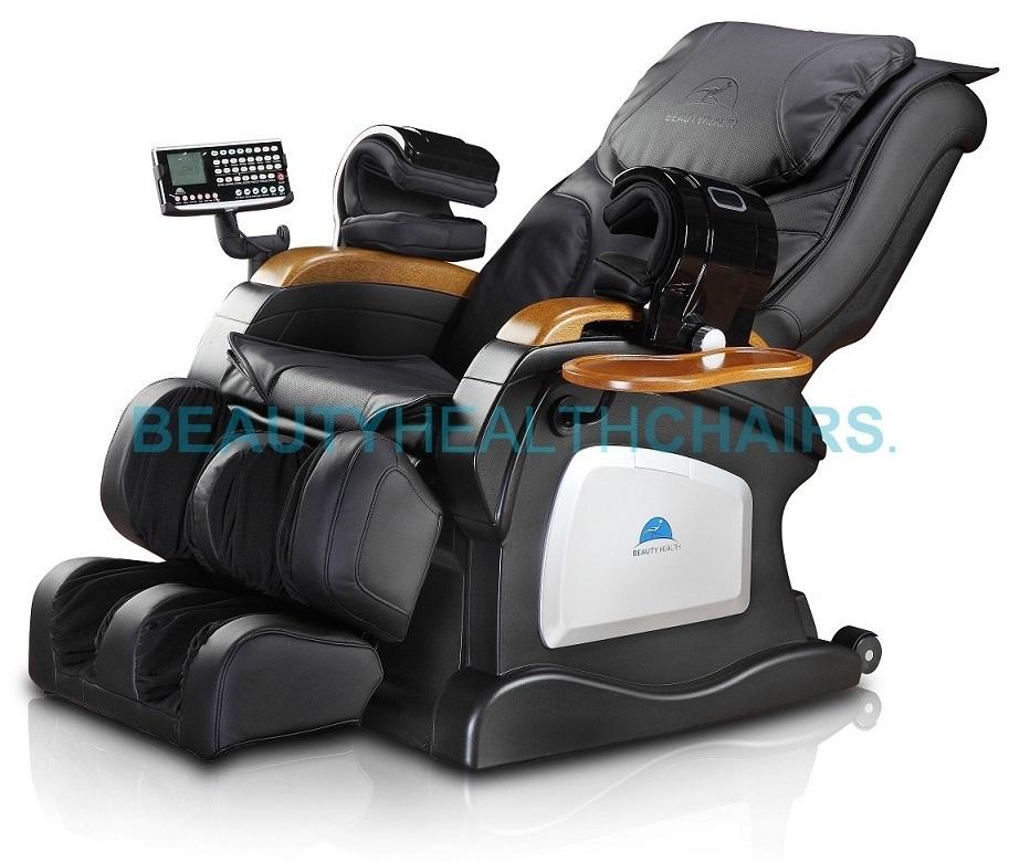 Reclining Massage Chair brand new beautyhealth bc-07dh shiatsu recliner massage chair with